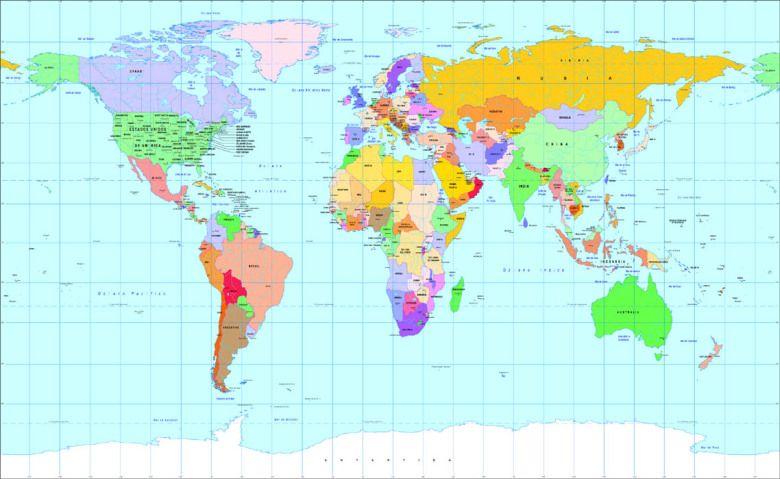 Mapamundi Mapas Del Mundo Relieve Países Continentes Mapa Mundi Science And Nature Happy Wallpaper