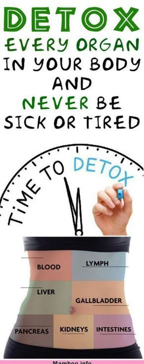 Detox Every Organ in Your Body and Never Be Sick or Tired #health #fitness #diy ..., #Body #Detox #d...