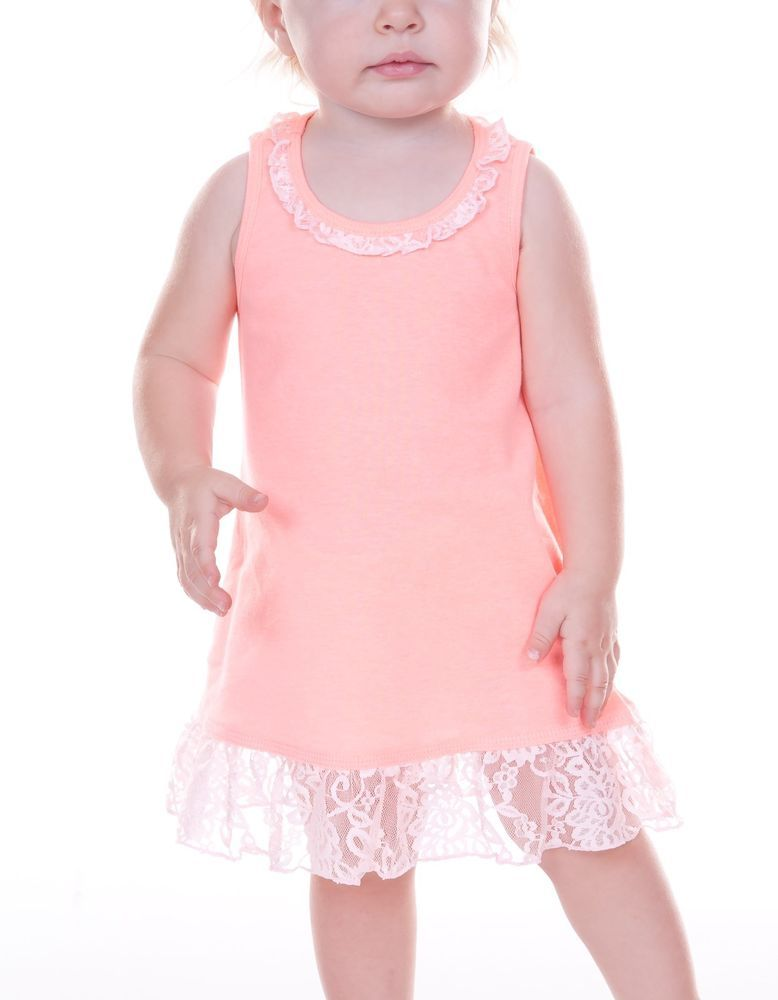 eae7275b55849 Infant & Toddler cotton dress with lace trim. These dresses are made of  soft cotton and very comfortable. So nice I dress my own children in them!