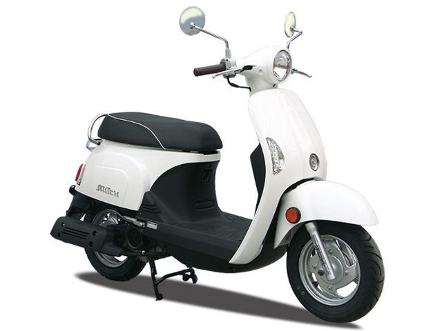 Kymco mitch 125i white -made in Taiwan