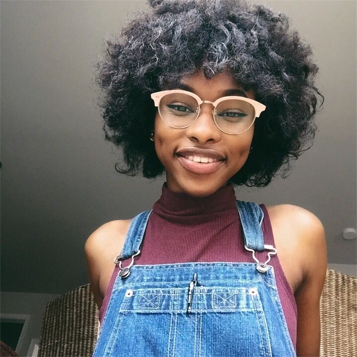 Instagram Iamkimberlyt Kawaii Black Girl People With Glasses