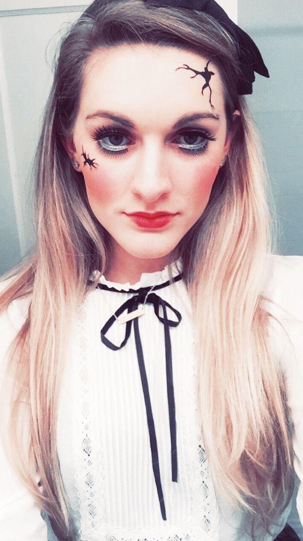 Doll Makeup Halloween #makeup #tutorial