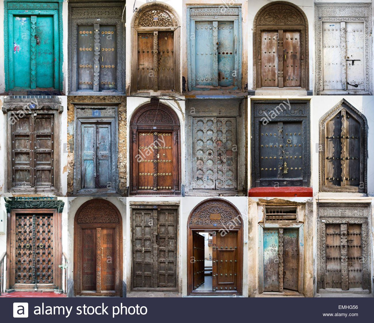 Zanzibar Is Famous For Its Old Wooden Doors Avec Images Deco