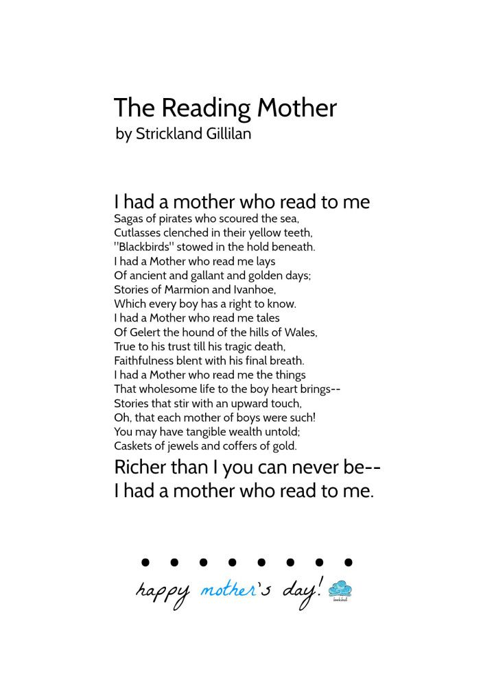 Bookbed Gillilan Strickland The Reading Mother Books