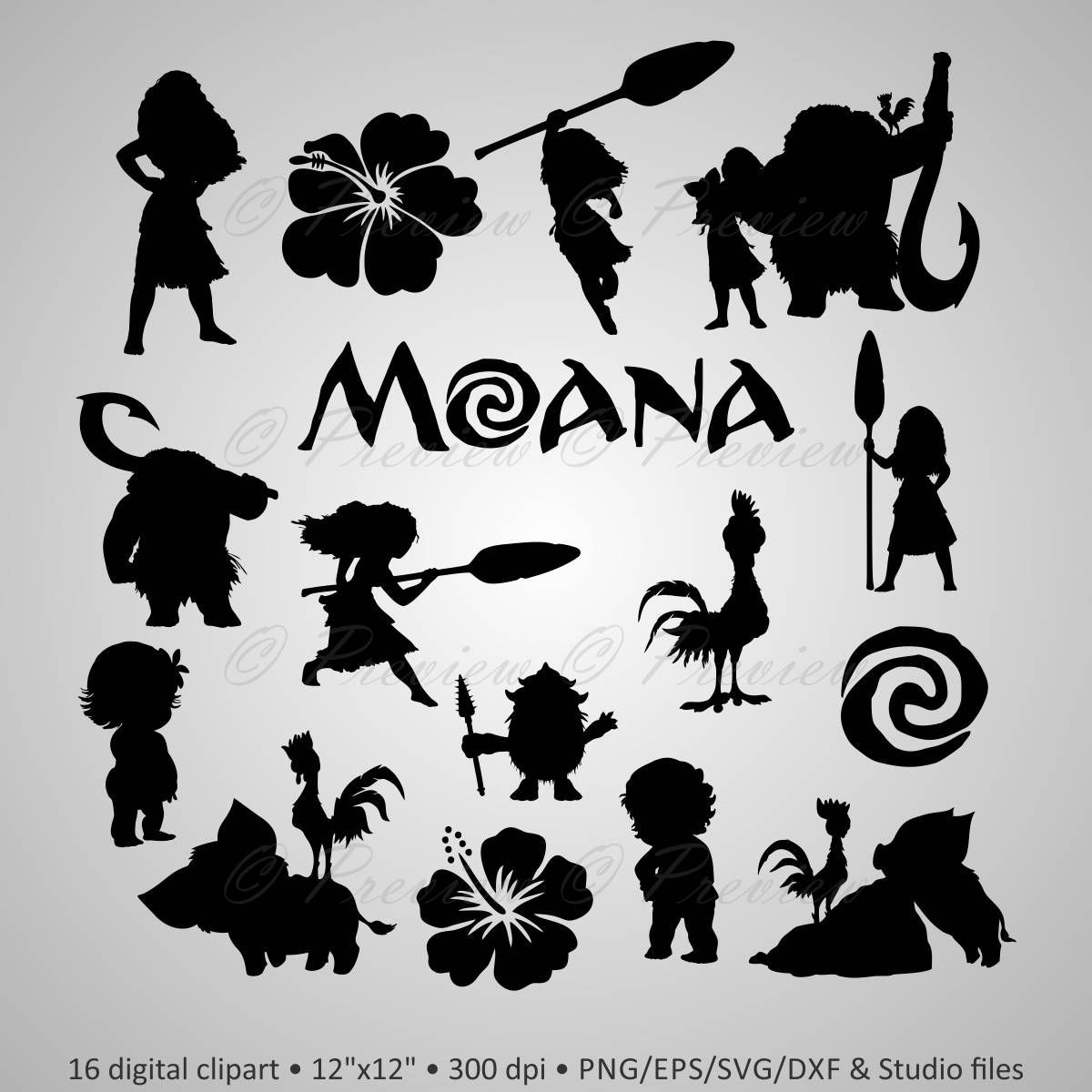 Image Result For Moana Svg Free Disney Silhouette Art Disney Silhouettes Digital Clip Art