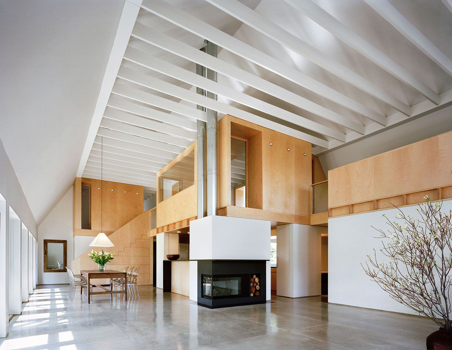 My dream home. Modern barn house designed by Specht Architects ...