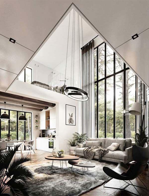 21 Fantastic Home Interior Design Ideas For 2019 Fashionsfield Contemporary Decor Living Room House Design Modern Houses Interior