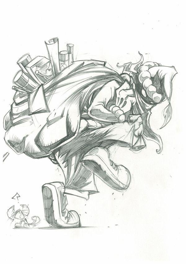 Sketchbook 1 by dayne henry jr via behance