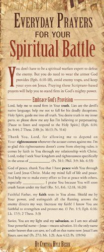 Everyday Prayers for Your Spiritual Battle 50-pack | Inspiration