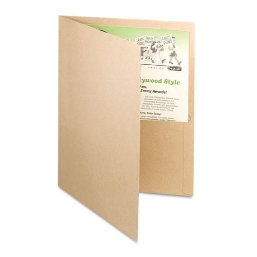 Earthwise 100% Recycled Paper Twin-Pocket Portfolio