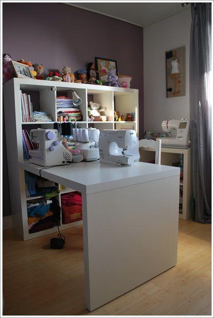 mon coin atelier couture dans ma tachenn by ty florian atelier couture amenagement. Black Bedroom Furniture Sets. Home Design Ideas