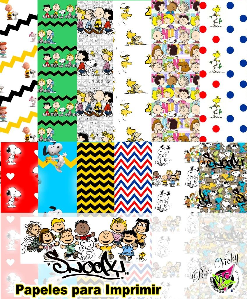 snoopy | papel | Pinterest | Snoopy, Charlie brown y Imprimibles