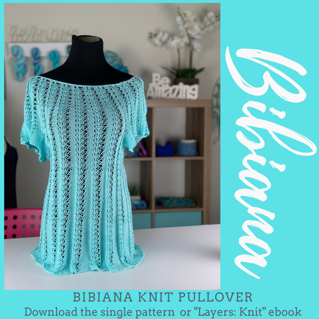 This seamless, knit in-the-round pullover is reversible ...