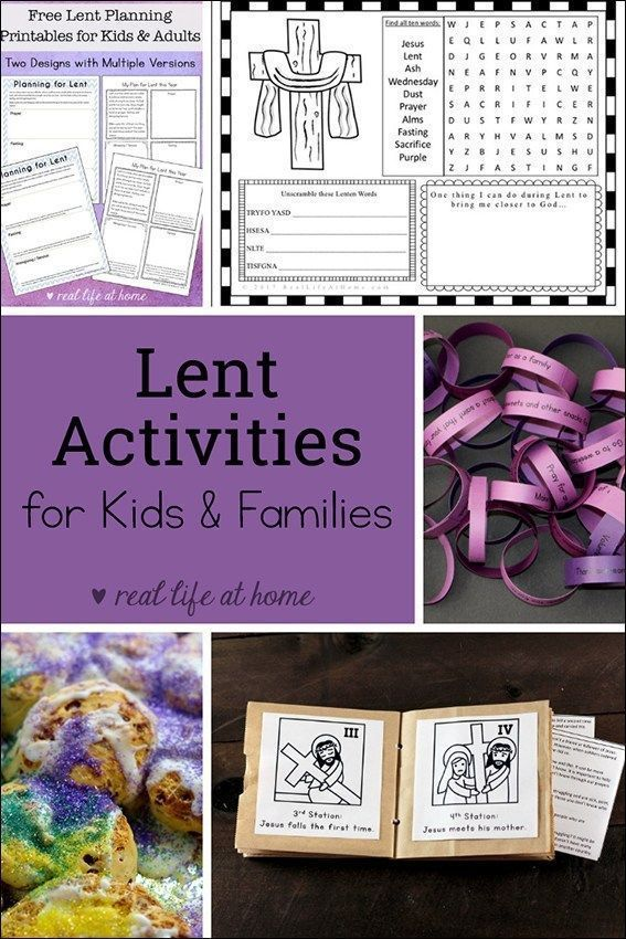 Photo of Lent Activities for Kids and Families – featuring hands-on L…