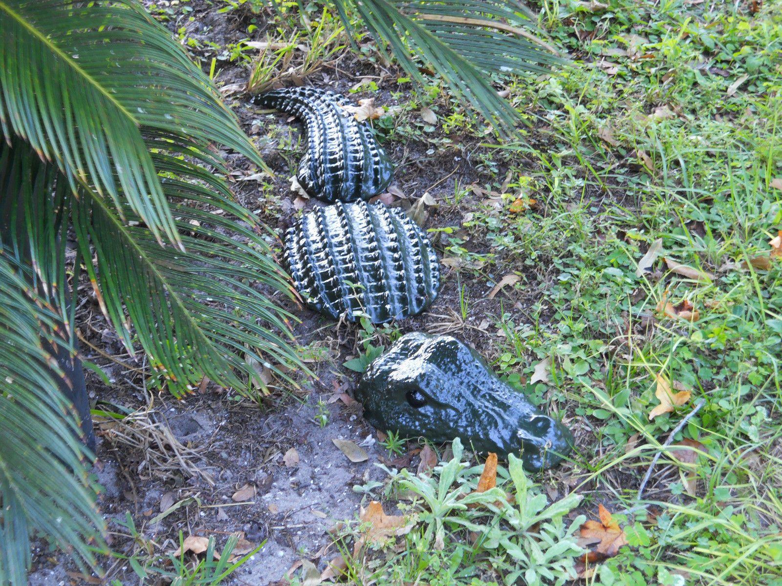 Genial Alligator Tire Lawn Art Pattern   3pc Large Alligator Statue / Yard Art /  Garden Stone / Lawn DecorFree .