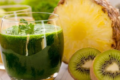 شجر الدر عصير الكيوي بالاناناس للرجيم Nutritious Smoothies Healthy Smoothies Smoothies