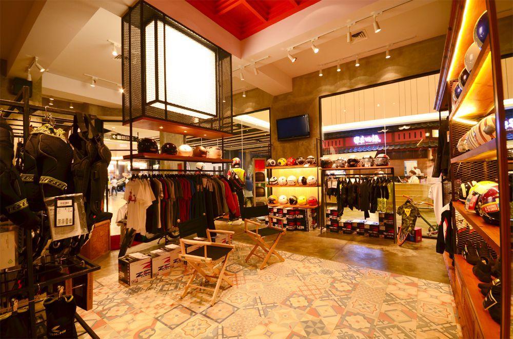 Industrial Display Area Motobaiku Store Aeon Mall