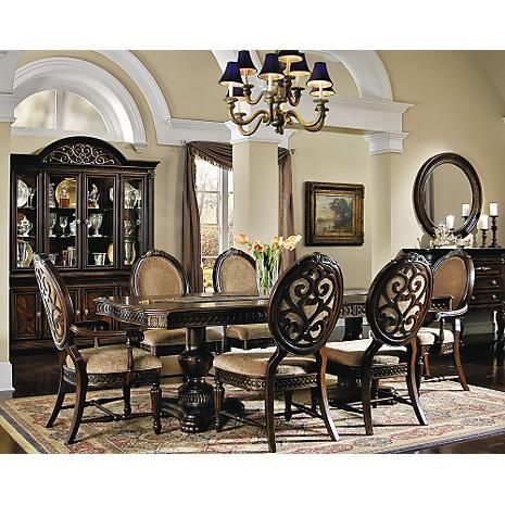 Grand regency dining set for the home pinterest for Regency dining room