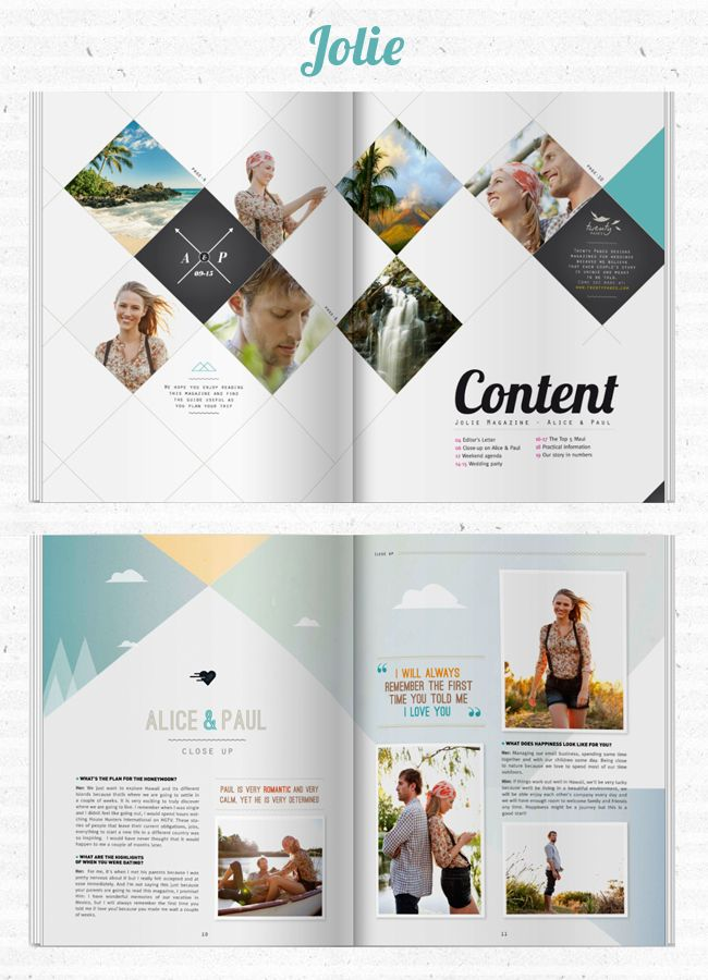 Create Your Own Wedding Magazine With Twenty Pages Hochzeit Anna