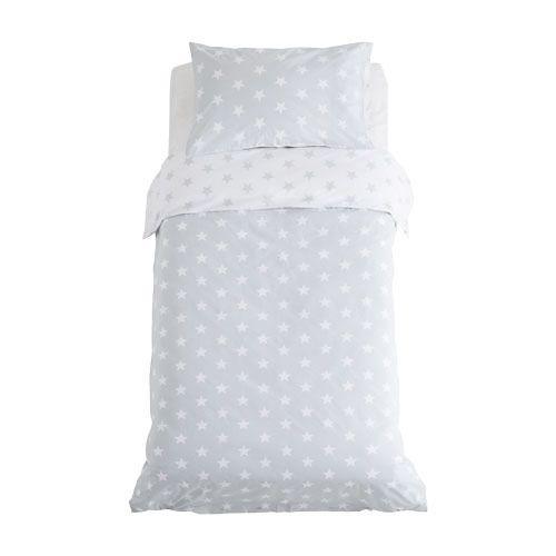 Grey Stardust Bedding Set Toddler Duvet Cover Sets Star Bedding Duvet Covers