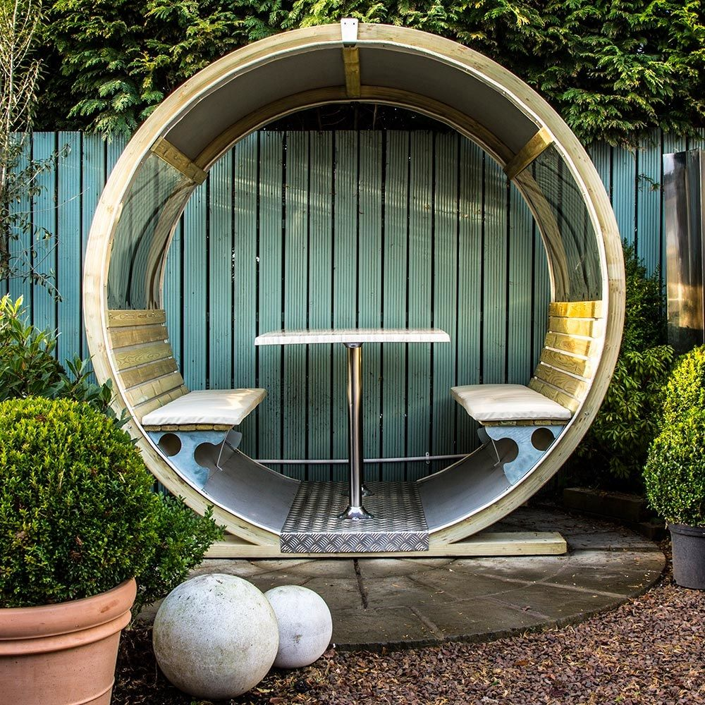 Unique Garden Wheel Bench In 2020