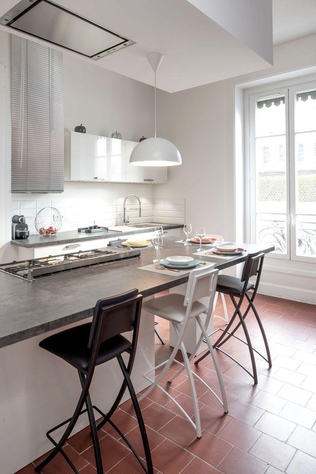 Aménagement cuisine ouverte sur salle à manger  8 idées déco Kitchens