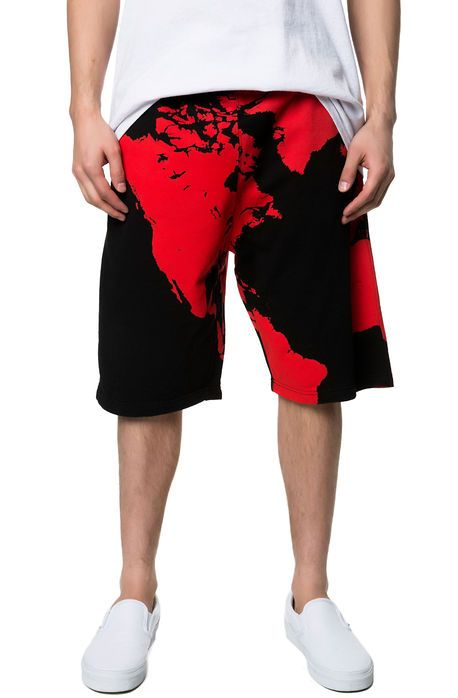 The Underworld Shorts in Red
