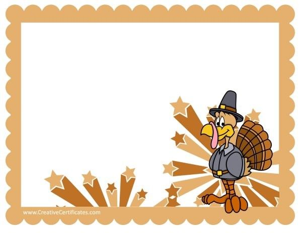 thanksgiving clipart borders thanksgiving borders placemats rh pinterest com thanksgiving border clip art free thanksgiving border clip art black and white