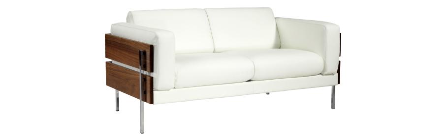 2 Sitzer Sofa Aus Leder Living Room Sofa Couch Habitats