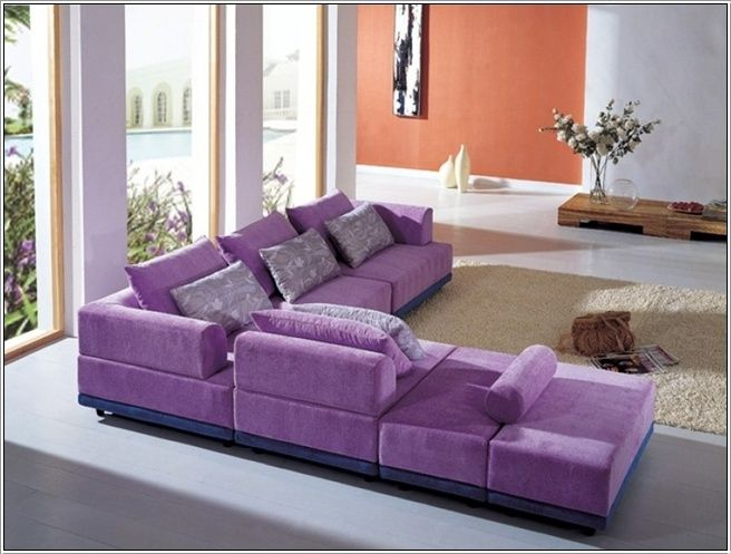 Modern Sectional Sofas For Living Rooms Purple Furniture Purple Living Room Purple Living Room Furniture