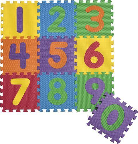 Extra Thick Foam Numbers Puzzle Mat Quarto De Hospedes Hospedes