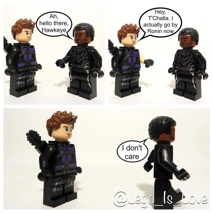 Black Panther is so mean to Clint #Lego #LegoBlackPanther ...