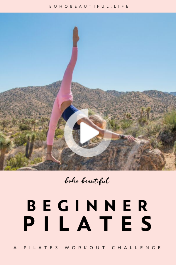 Pilates Workout Challenge | Boho Beautiful | Best Ab Exercises for Results. Whether you're doing thi...