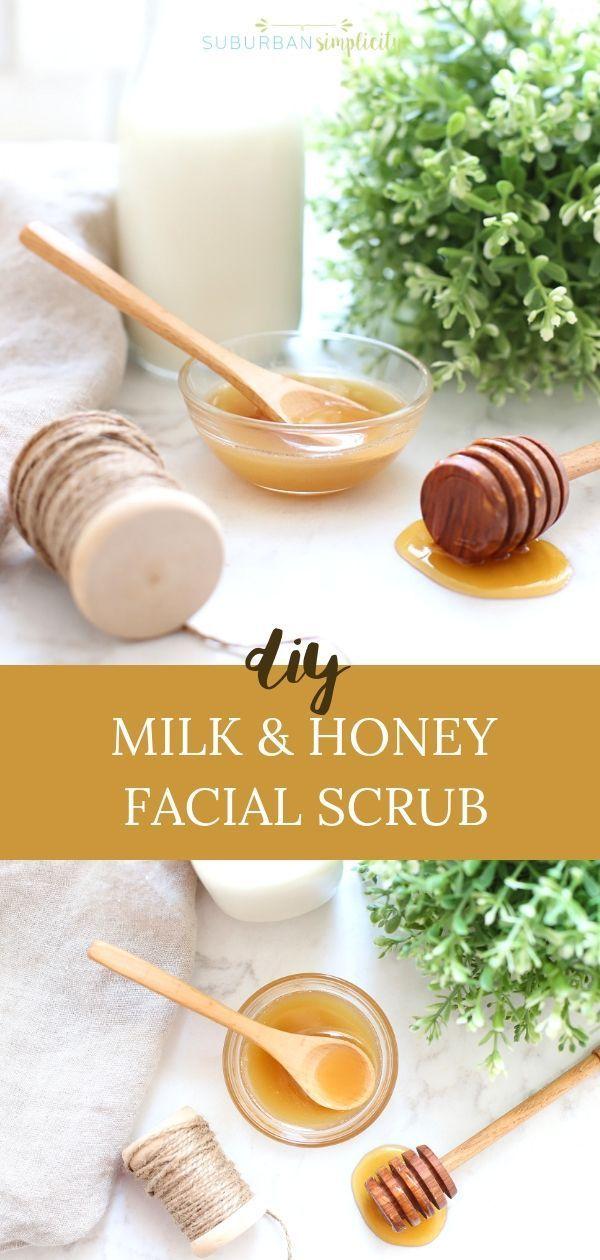 Easy Milk and Honey Sugar Scrub