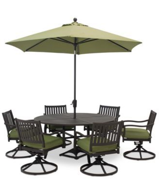 Madison Outdoor Aluminum -Pc. Dining Set  Round Dining Table
