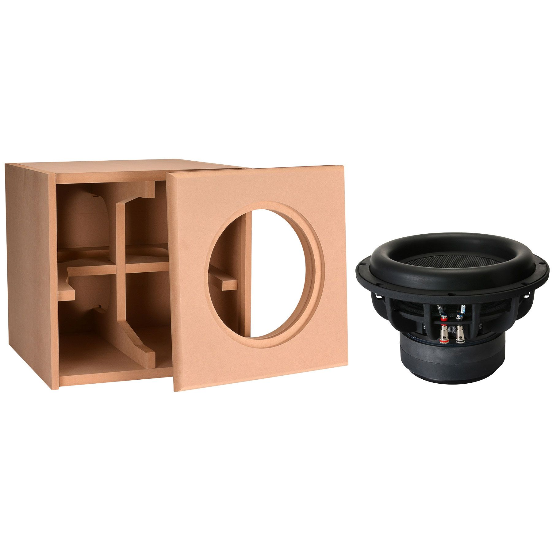 Dayton audio 10 ultimax subwoofer and package