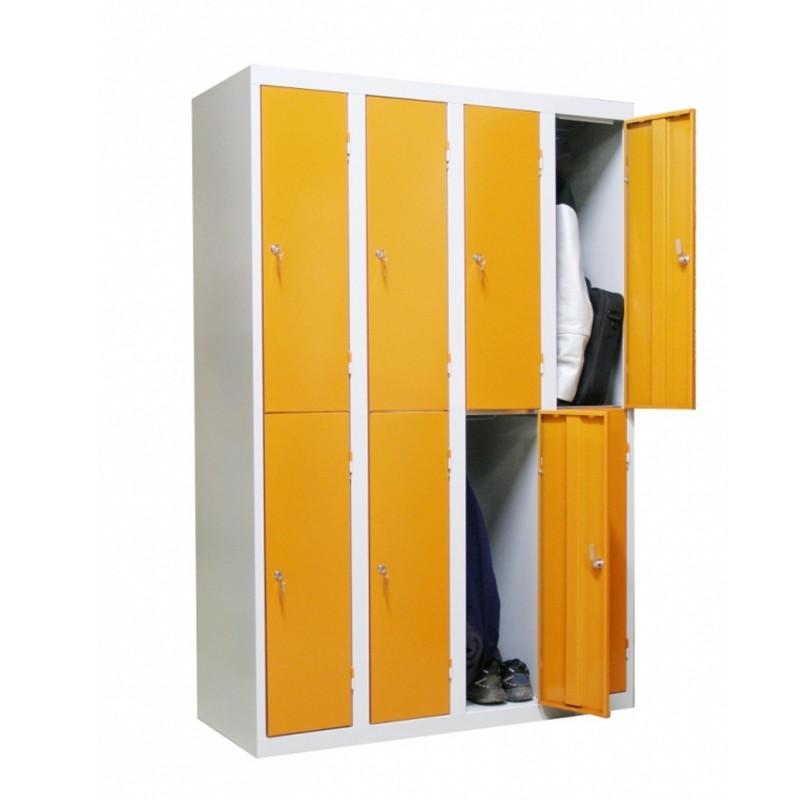 Vestiaire Monobloc Multi Casier Largeur 300 4 Colonnes In 2020 Industrie