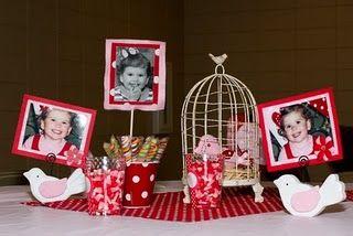bird birthday party decorations