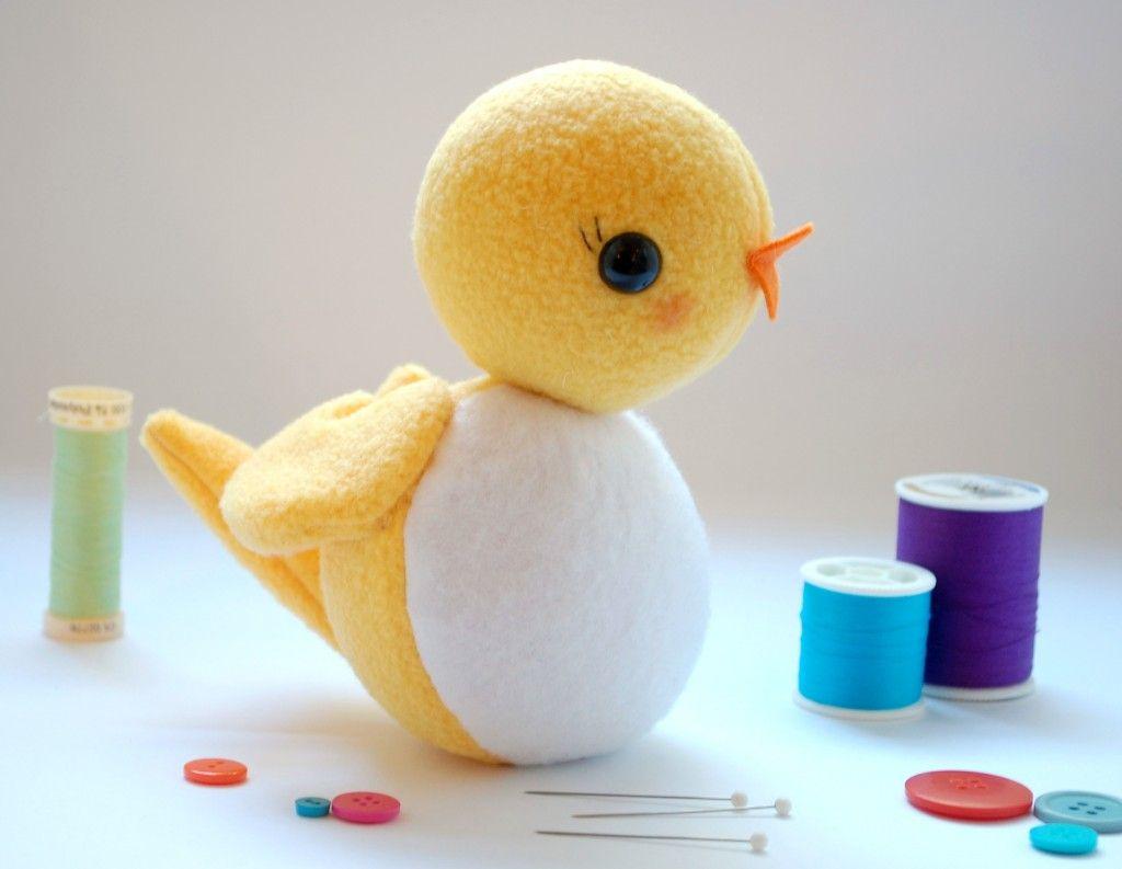 Circle Bird: A Free Softie Pattern | Nähanleitung kostenlos ...