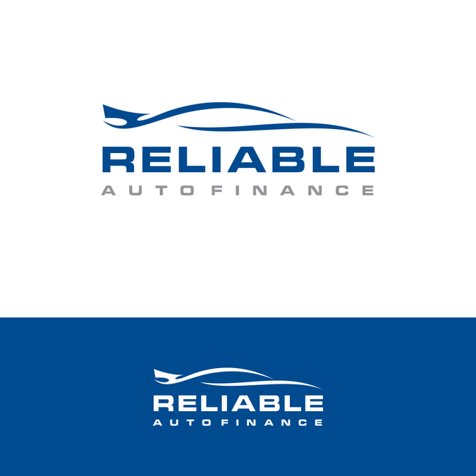 Reliable Auto Finance >> Overused Logo Sold On Www 99designs Com Car Silhouette
