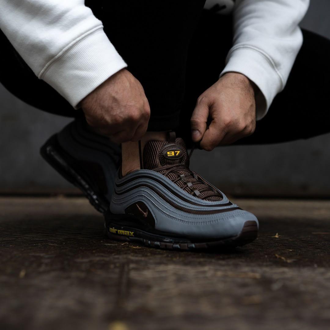 Nike Air Max 97 Premium Grey / Brown