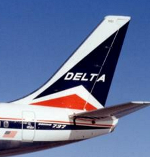 Delta tail Delta airlines, Vintage airlines, Delta