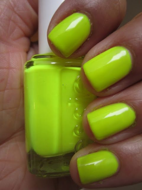 Essie Funky Limelight   style   Pinterest