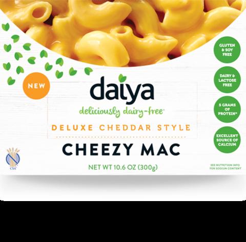 Daiya Cheezy Mac Deluxe Cheddar Style Vegan Mac And Cheese