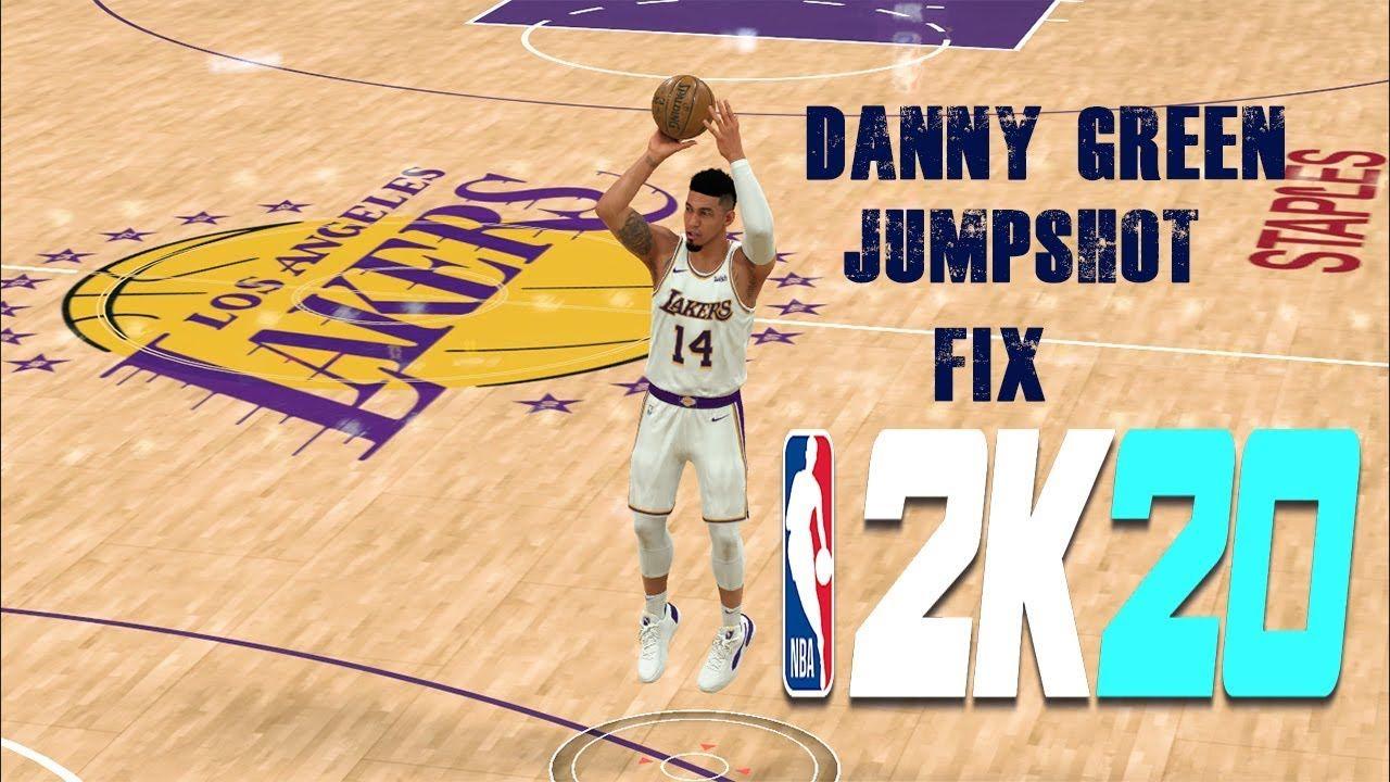 Danny Green Jumpshot Fix Nba 2k20 Nba Video Nba Green
