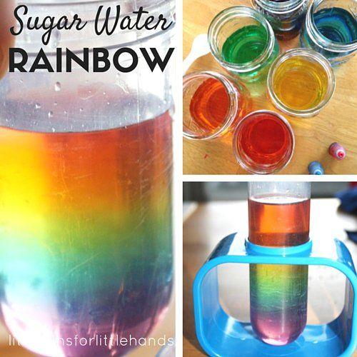 Sugar Water Density Rainbow Science Experiment   Activities ...