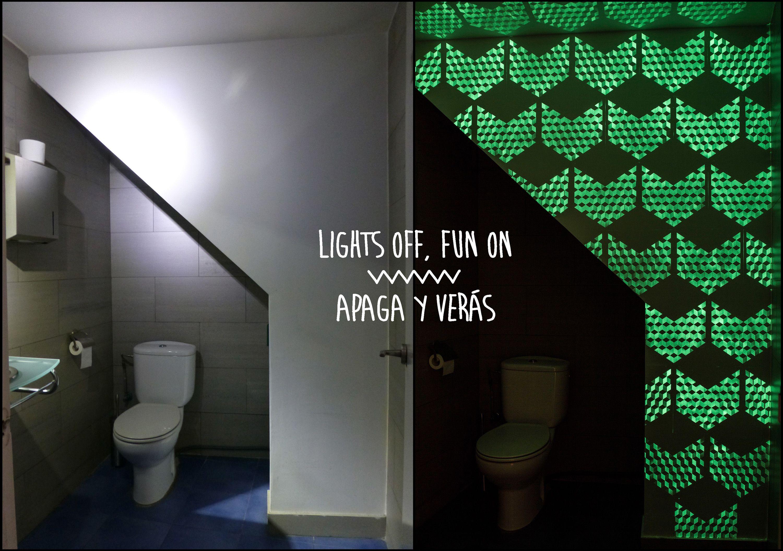 Juego De Escape The Bathroom acertijo/pintura terminado!! original mural con pintura