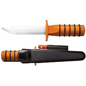 Cold Steel Survival Edge Orange Knife