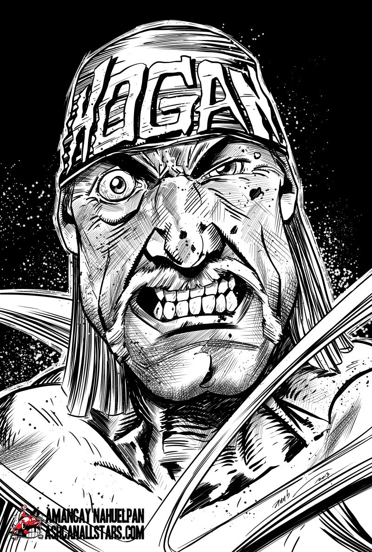 Hulk Hogan By Amancay Nahuelpan By Ashcanallstars On Deviantart Hulk Hogan Hulk Macho Man Randy Savage