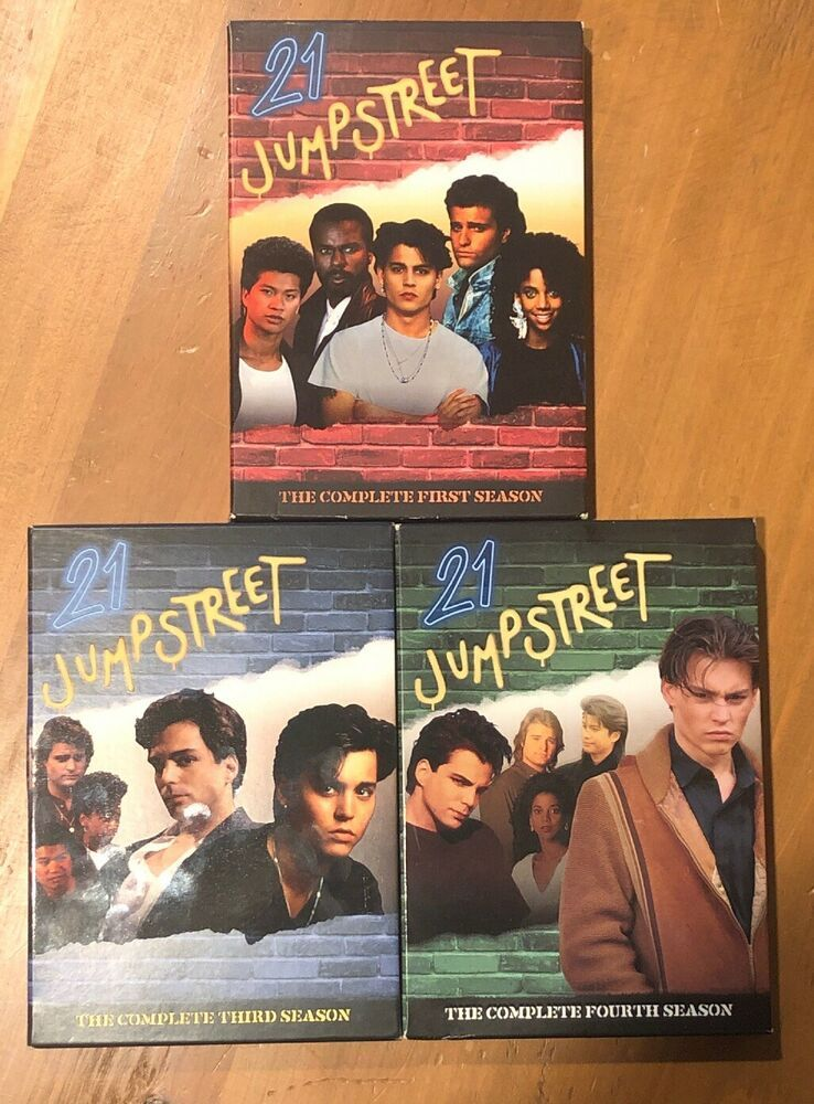21 Jump Street Tv Series Dvd Seasons 1 3 4 Johnny Depp Ebay Johnny Depp Tv Series Johnny